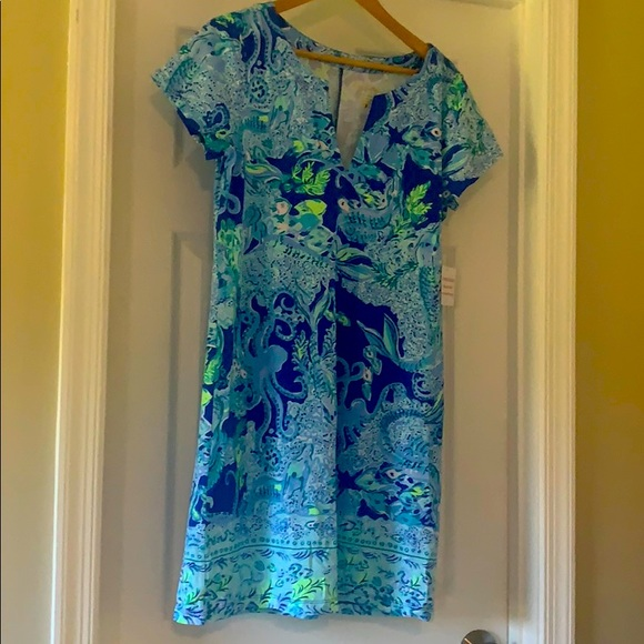 Lily Pulitzer Sophiletta Dress in Blue Current